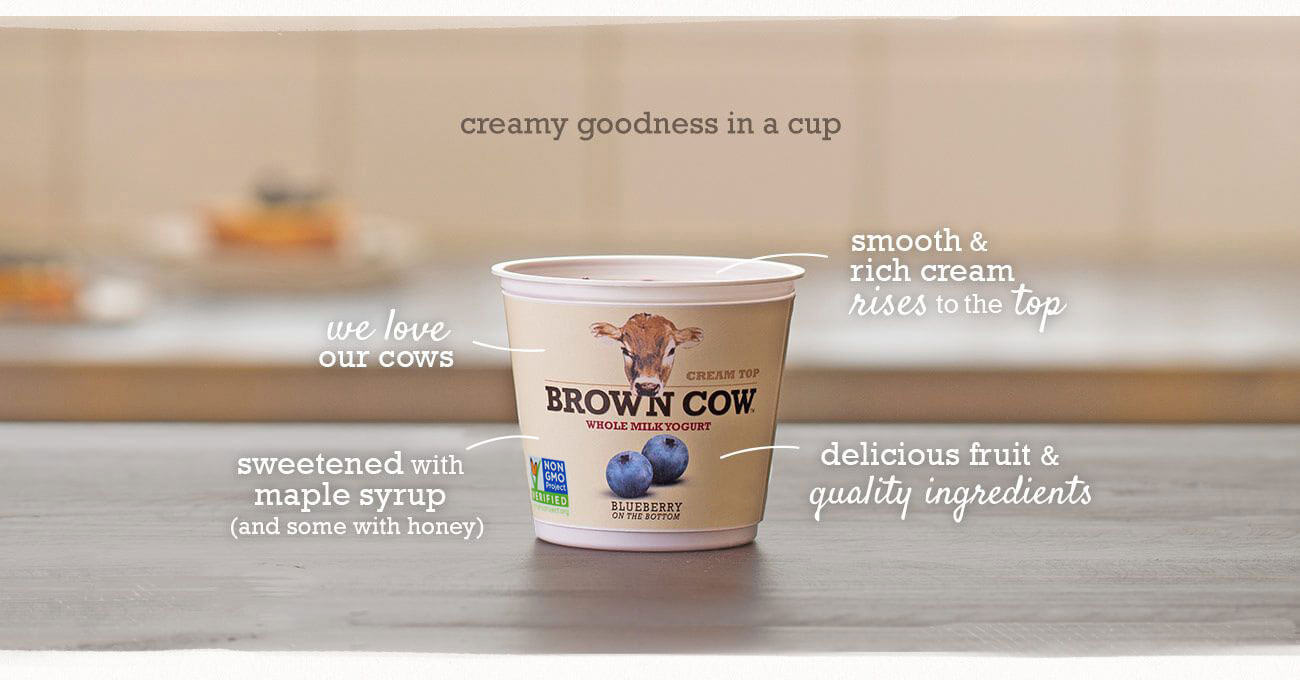 Brown Cow - Creamy Goodness in a cup