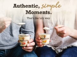 Authentic, simple Moments. That's the Lily way.
